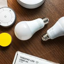 Ikeas Smart Lights Are As Stylish And Breakable As Its Furniture