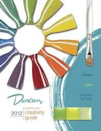 Duncan Color Chart