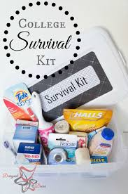 college survival kit diy emergency kit pinnable