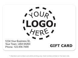 Business Gift Cards With Logo Gift Card Design 8 Logo Card