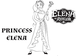 Small Picture Disneys Elena of Avalor Coloring Pages Sheet Free Disney