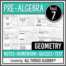 Geometry and measurement never mind i will not get all the answers. Geometry Pre Algebra Curriculum Unit 7 Distance Learning Tpt