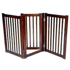 ellent baby gate with cat door images dog gates indoor wooden pet safety uk