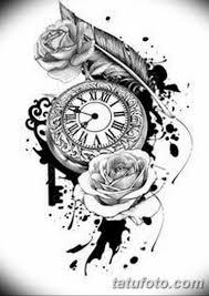 тату эскизы часы на руке мужские 09032019 009 Tattoo Sketches