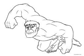 hulk coloring pages printable