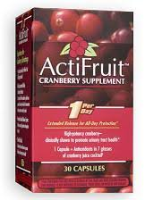 <b>ActiFruit Cranberry supplement</b> with Cran-Max Capsule <b>30</b> Caps ...