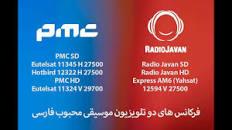 Image result for فركانس جديد راديو جوان
