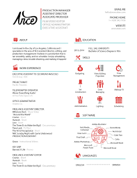 Resume Layout Filmmaker Clean And Creative Resume Design Identity 94