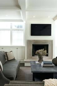 flat panel television mounted tv mount fireplace mantel attaching to stone on existing