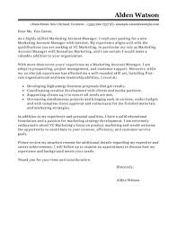 Account Manager Cover Letters Best Account Manager Cover Letter Examples