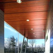 longboard soffit aluminum cladding 6 v groove dark cherry and faux wood panelling accent feature o22 wood