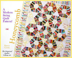 Best 25+ Twin quilt pattern ideas on Pinterest | Twin quilt size ... & Honeycomb Quilt Pattern, String quilt pattern, Modern quilt pattern, Twin  quilt pattern, qtm This quilt is easier to make than you might Adamdwight.com