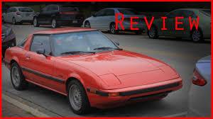 mazda rx7 1985. 1985 mazda rx7 gsl review
