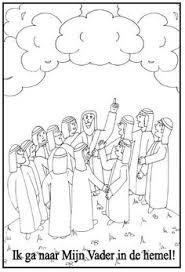 9 Beste Afbeeldingen Van Hemelvaart Sunday School Bible Crafts En