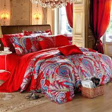 gypsy bedding sets bohemian gypsy bedding red bohemian bedding red and blue paisley tribal bohemian gypsy bedding sets