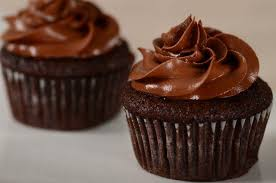 chocolate cupcakes with chocolate icing.  Chocolate Intended Chocolate Cupcakes With Icing C