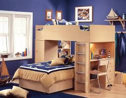 twin over full bunk bed with desk plan