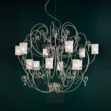 12 bulb chandelier anima diameter 150 cm