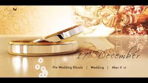 wedding invitation video video invitation cly marriage invitation video you