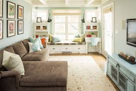 living room window seat | ... Inviting Interiors : Turquoaise Livingl Room  With Sofa