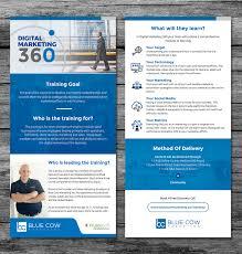 Marketing Flyer Digital Flyer Design For Blue Cow Marketing Inc By Sundesign 8