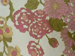 Vintage Bloemenbehang Roze Groen Funkywalls Dé Webshop Voor