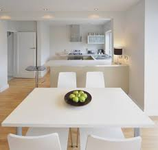 Modern Kitchen Table Lighting Bathroom Catchy White Kitchen With Dim Lighting Also Modern