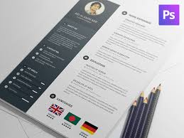 Free Resume Template By Al Amin Mir Dribbble