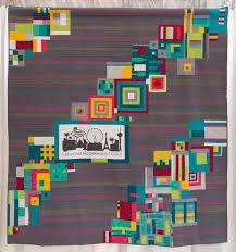 Gallery   The Modern Quilt Guild & The Modern Strip Quilt by Vicki Ruebel, 2015 Adamdwight.com