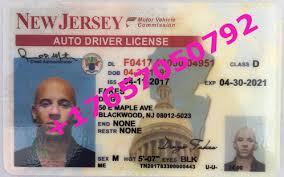 Id License New For Jersey drivers Citizenship Sale
