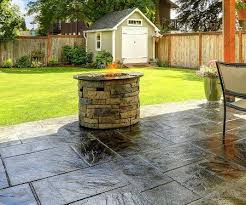 sealing stamped concrete and paver patios