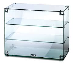 Small Glass Display Cabinet For Stores With Doors of Attractive ...