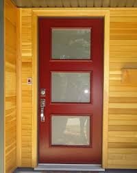 single glass front doors. Acid Etched Glass Insert By Portatec, Portatec Dark Red Coloured Single Entry Door. Front Doors