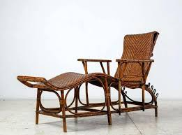 adjule bamboo and rattan garden chaise germany 1920s 1930s 2 1930s upholstered rocking chair 1930s antique