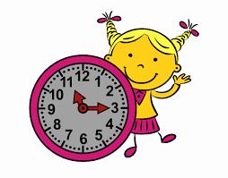 Resultado de imagen de dibujo reloj