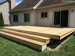 diy floating deck plans rogue engineer 19