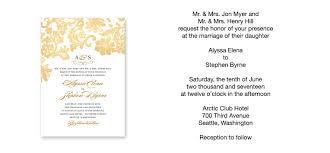 Wedding Invite Formats Under Fontanacountryinn Com