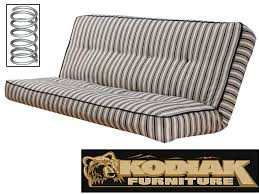 innerspring futon mattress. Brilliant Mattress PreUpholstered Cozumel Navy Innerspring Futon Mattress In Full Size By  Kodiak Intended