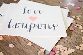 Make Love Coupons Thoughtful Valentines Day Gift Ideas
