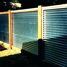 corrugated metal fence cost how to build a gated metal fence cost privacy corrugated metal fence panel cost