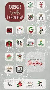 Christmas iPhone App Icons