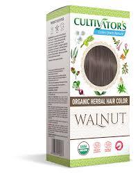 Walnut Organic Herbal Hair Color Henna Amla Indigo Aloe