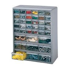 Storage Bin Cabinet Stack On Multi Drawer Storage Cabinet 39 Drawer 14 7 8in X 6 3