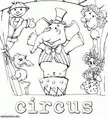 free circus themed coloring pages baby tent colouring printable fresh 869x95 for preschool