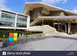 microsoft redmond office. Microsoft Visitor Center In Redmond, Washington - Stock Image Redmond Office