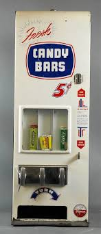 Candy Bar Vending Machine Beauteous 48's SHIPMAN CANDY BAR VENDING MACHINE