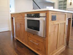 Custom Made Kitchen Island Charlotte Henderson Building Group Smd2470as Y Microwave  Drawer  Microwave Drawer In Island T31