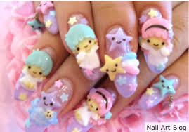 Four Japanese Nail Art Designs