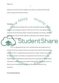 Difficulties And Challenges For Etisalat Operation Class Essay