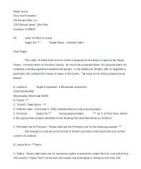 Lease Proposal Letter Amazing Lease Renewal Negotiation Letter Example Letterjdiorg